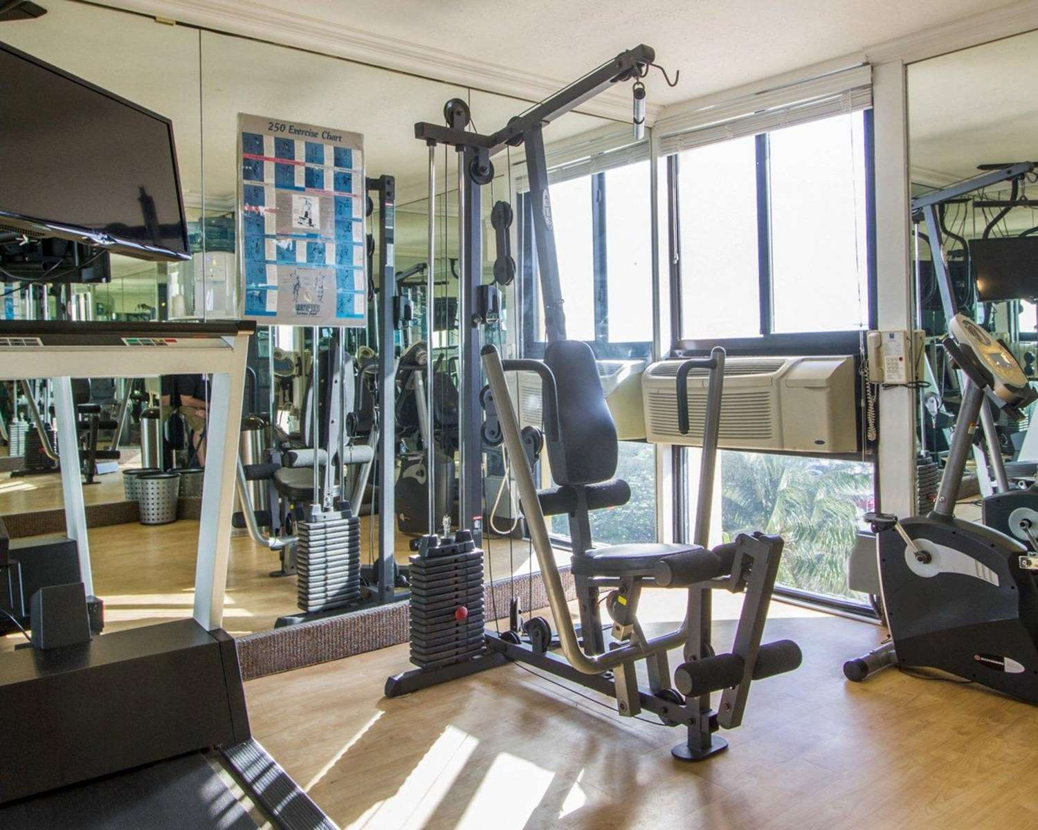 Fitness/ Exercise Room - Comfort Inn Oceanside Deerfield Beach