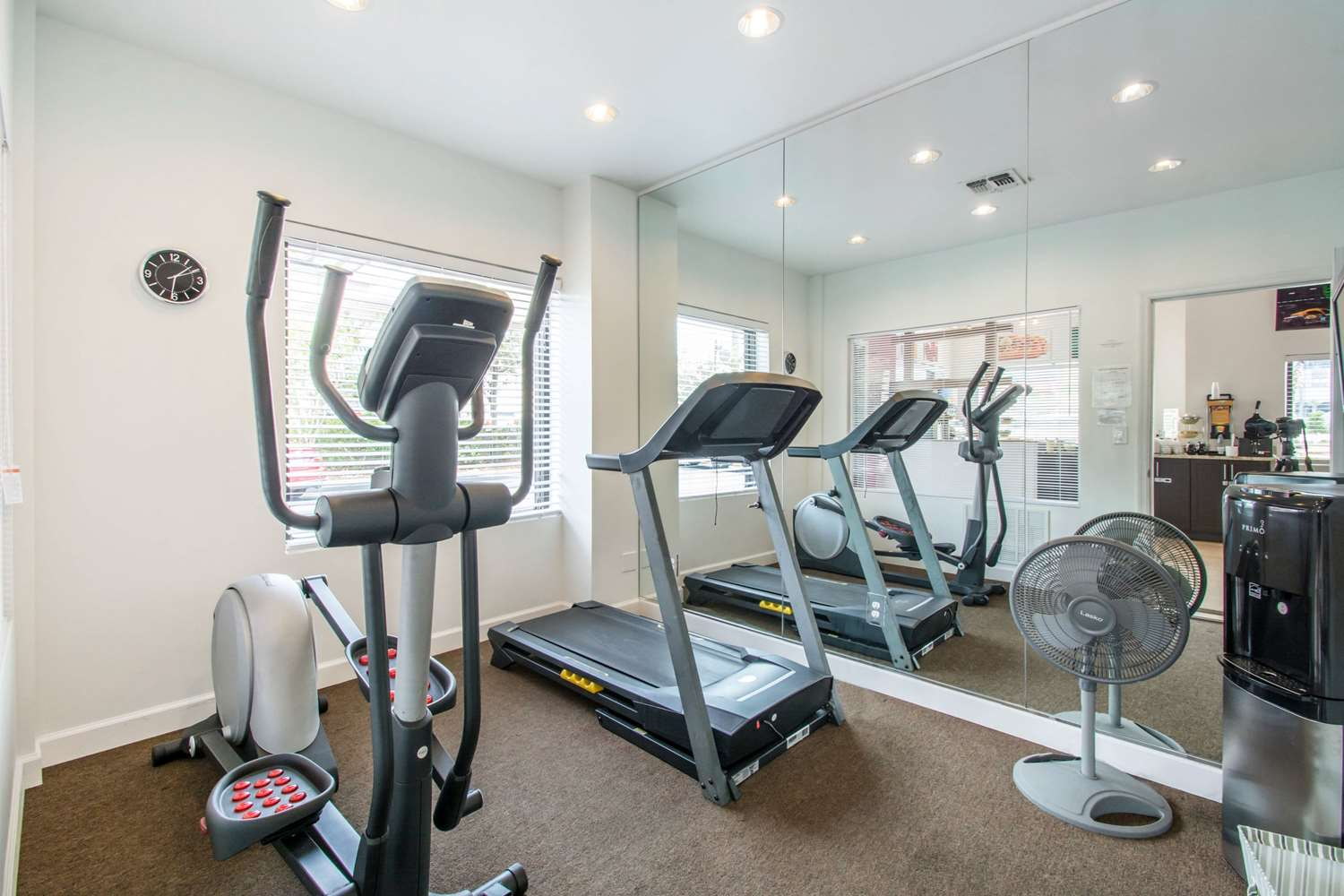 Fitness/ Exercise Room - Quality Inn Daytona Beach