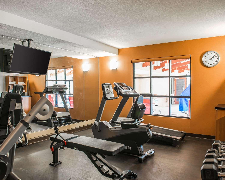 Fitness/ Exercise Room - Comfort Suites Callaway