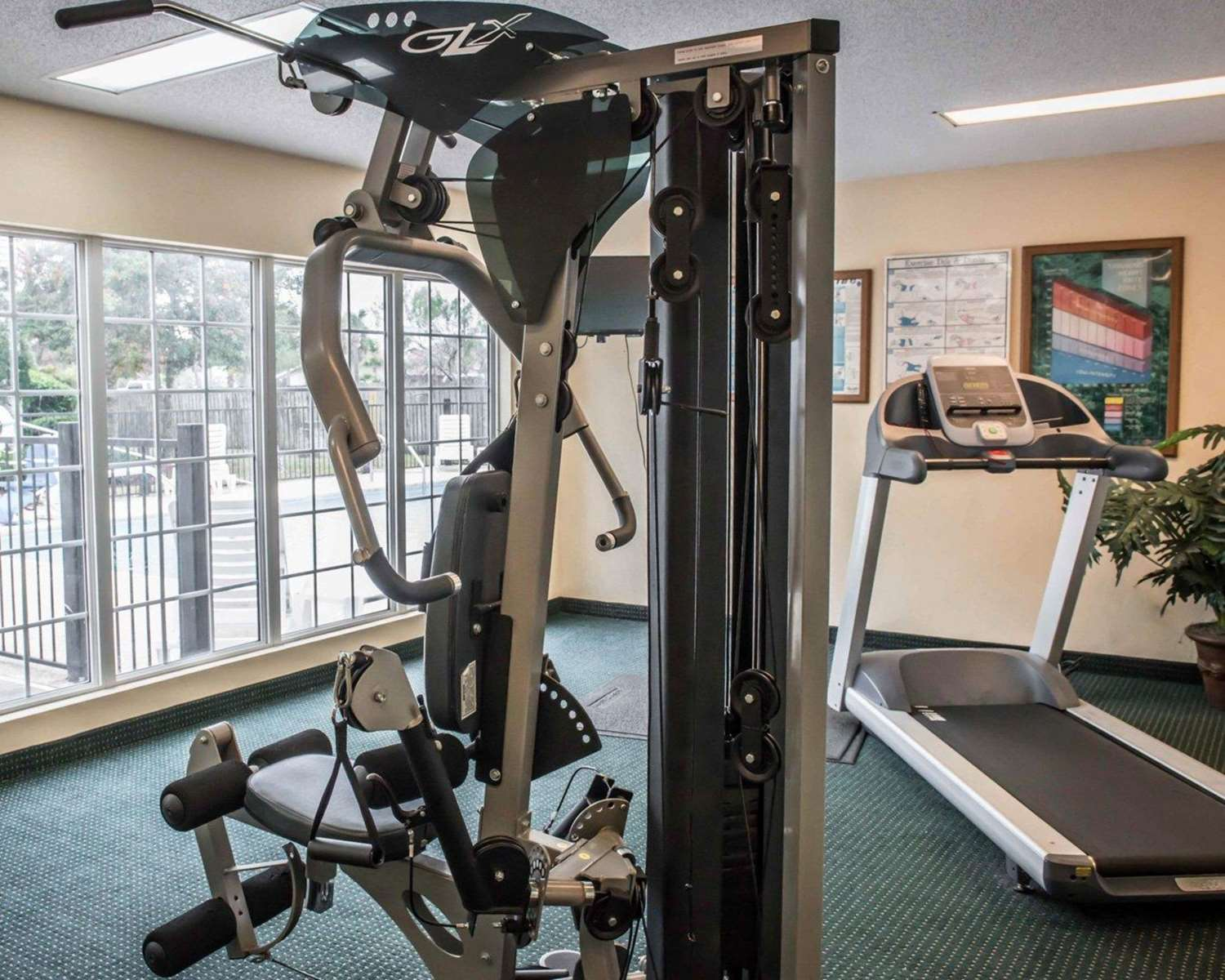 Fitness/ Exercise Room - Quality Inn Lake City