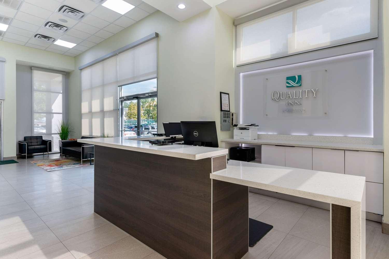 Lobby - Quality Inn I-75 Gainesville