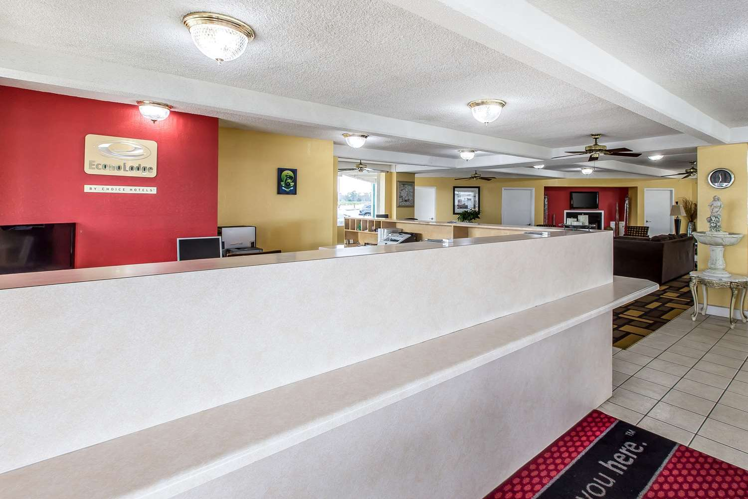 Lobby - Econo Lodge Old Macon Road Byron