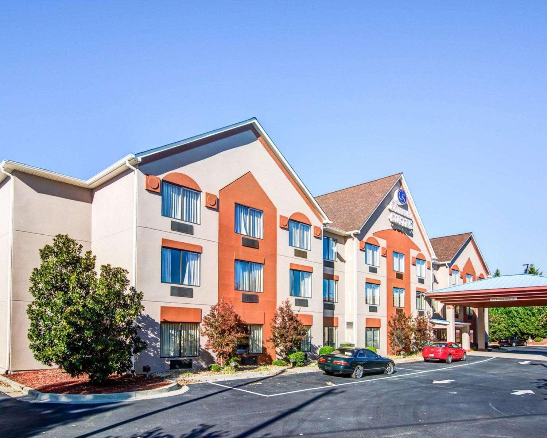 Exterior view - Comfort Suites Lawrenceville
