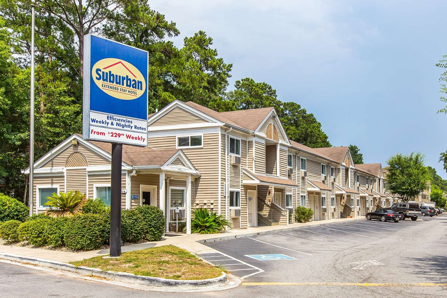 Exterior view - Suburban Extended Stay Hotel Savannah