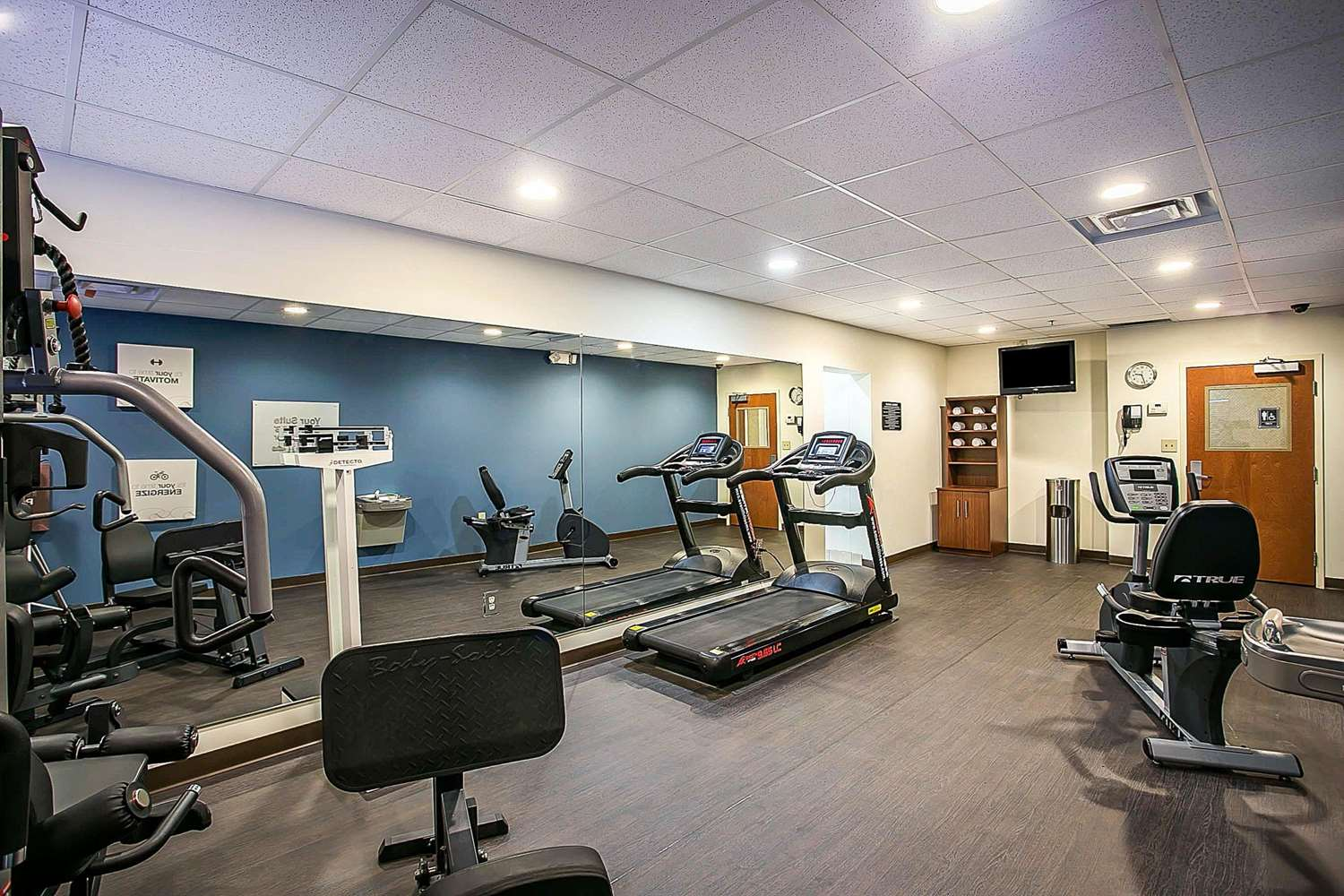 Fitness/ Exercise Room - Comfort Suites Augusta