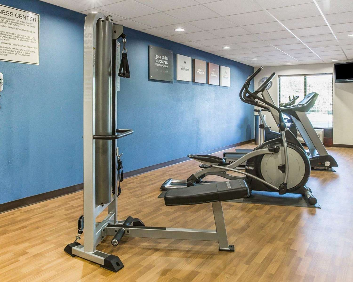 Fitness/ Exercise Room - Comfort Suites Macon