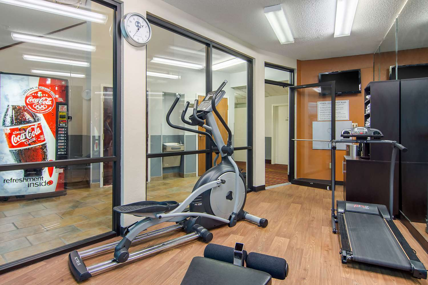 Fitness/ Exercise Room - Clarion Suites Gwinnett Place Duluth