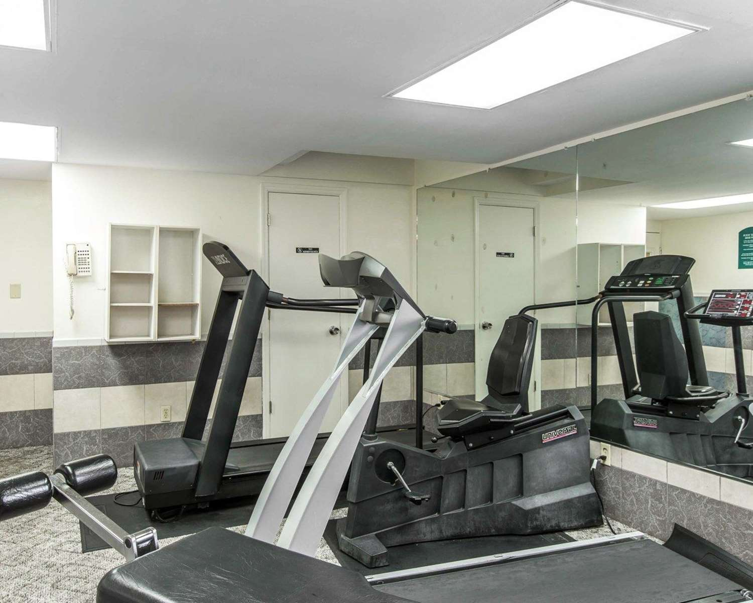 Fitness/ Exercise Room - Quality Inn & Suites Waycross
