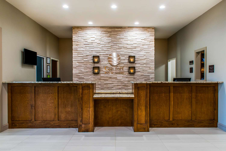 Lobby - Comfort Inn & Suites Valdosta