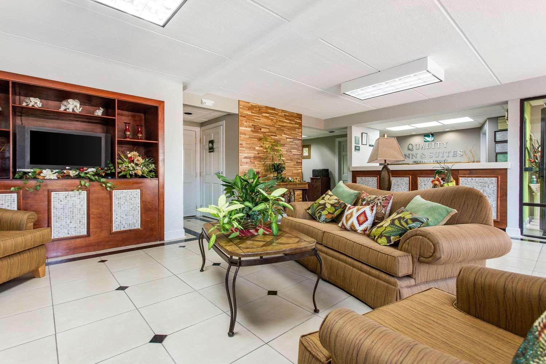 Lobby - Quality Inn & Suites Vidalia