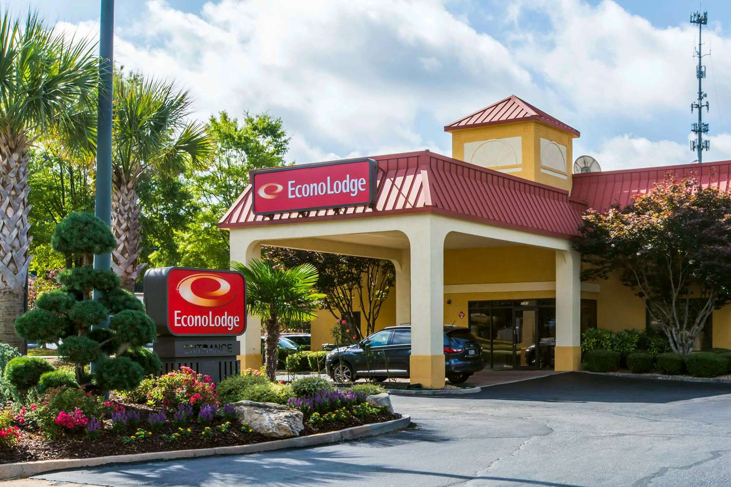 Exterior view - Econo Lodge Stockbridge
