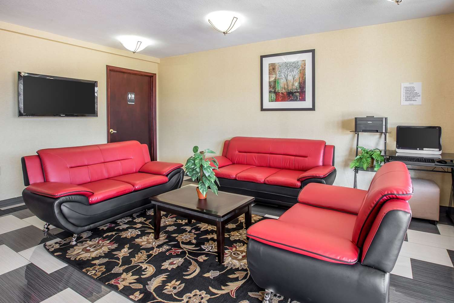 Lobby - Quality Inn Acworth