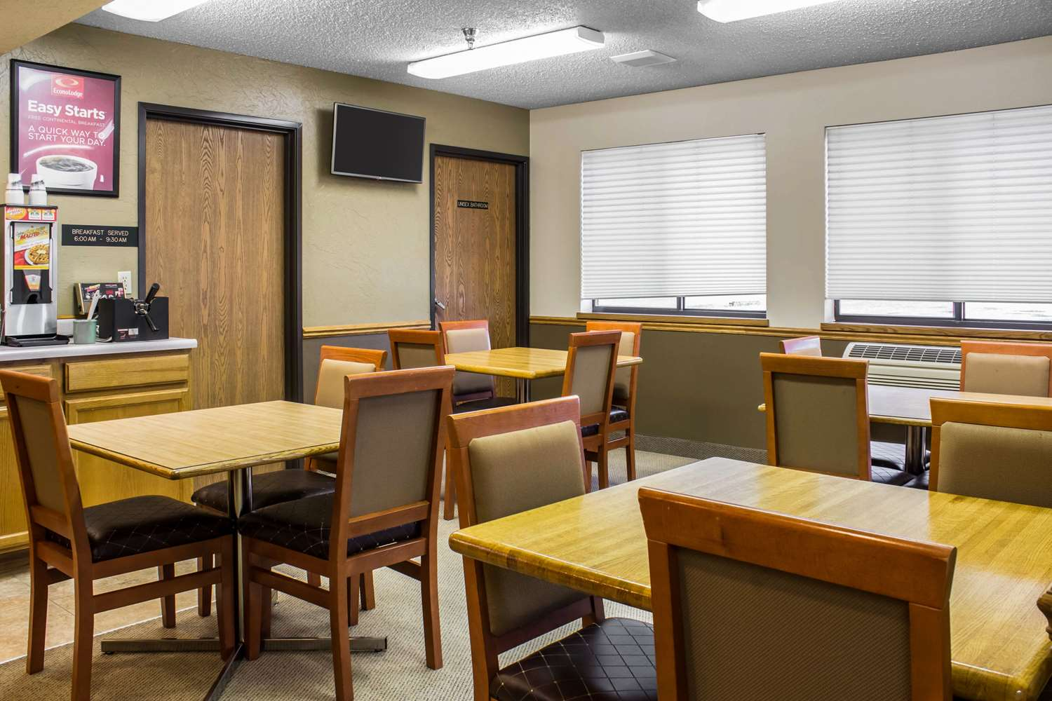 Restaurant - Econo Lodge Sioux Center