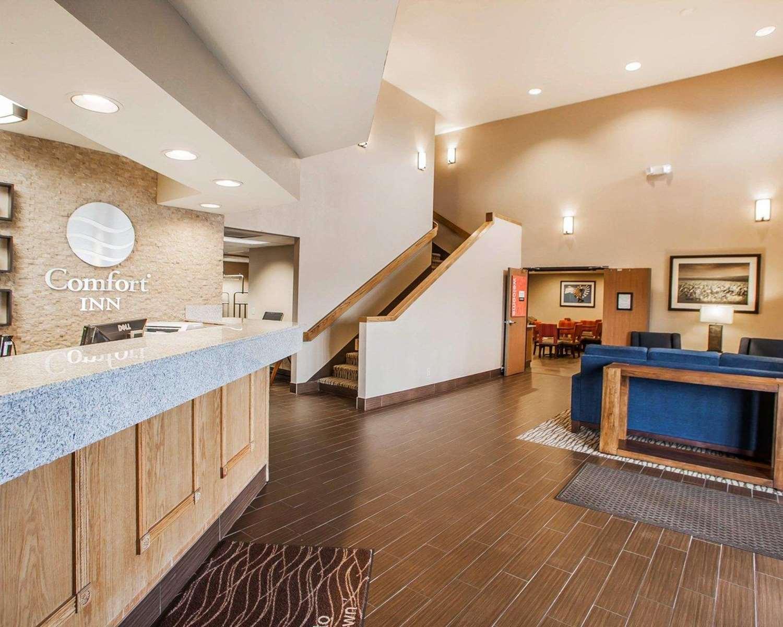 Lobby - Comfort Inn Marshalltown
