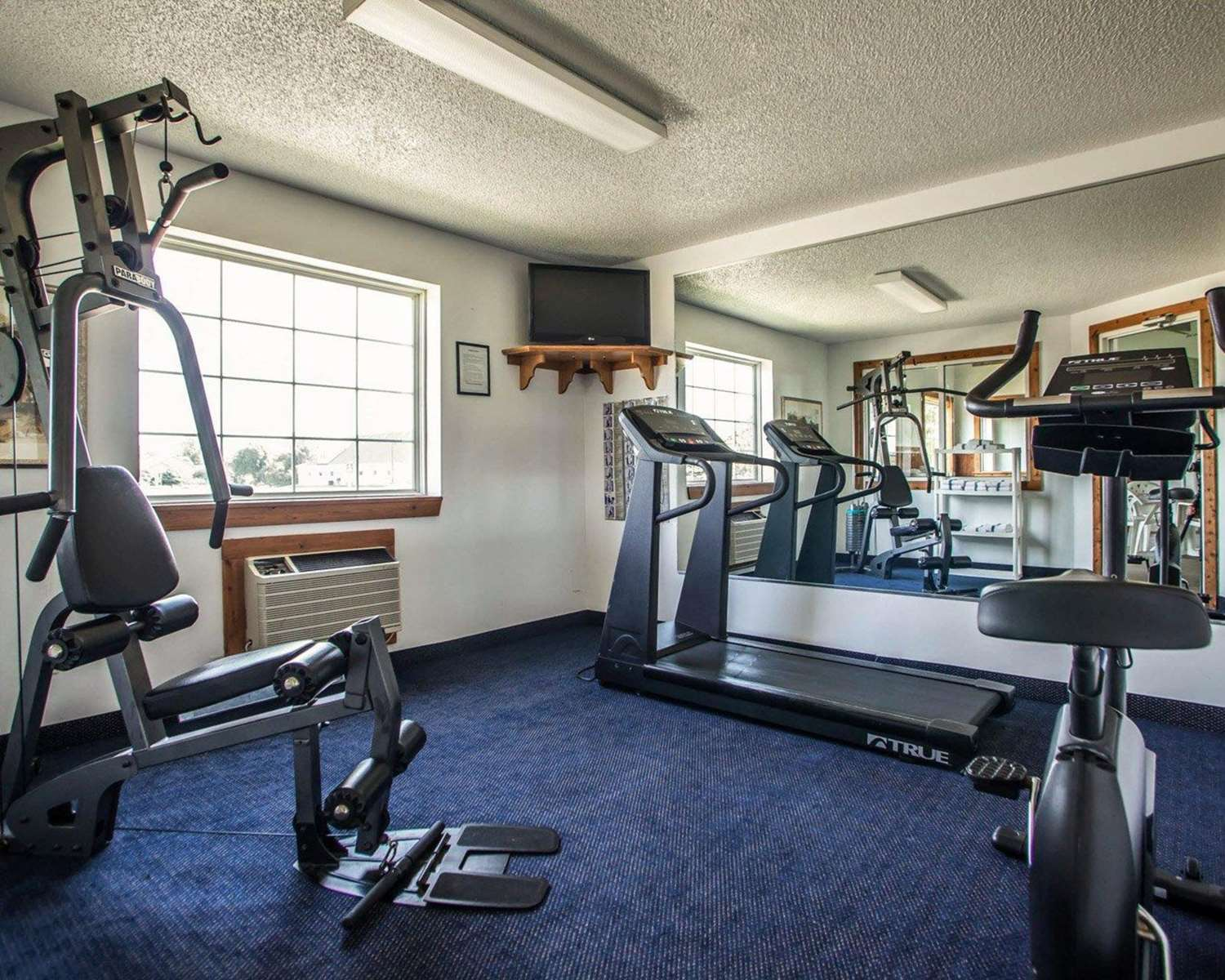 Fitness/ Exercise Room - Quality Inn & Suites Eldridge