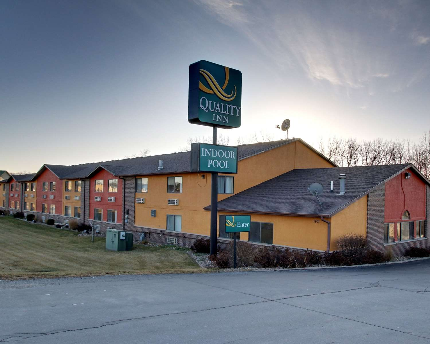 Exterior view - Quality Inn Indianola