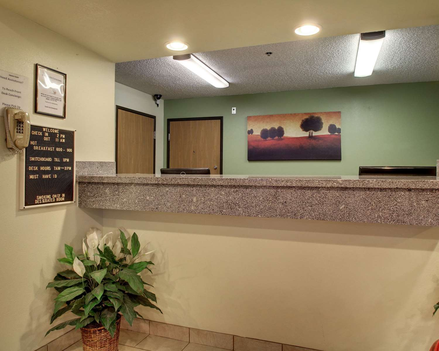 Lobby - Quality Inn Indianola