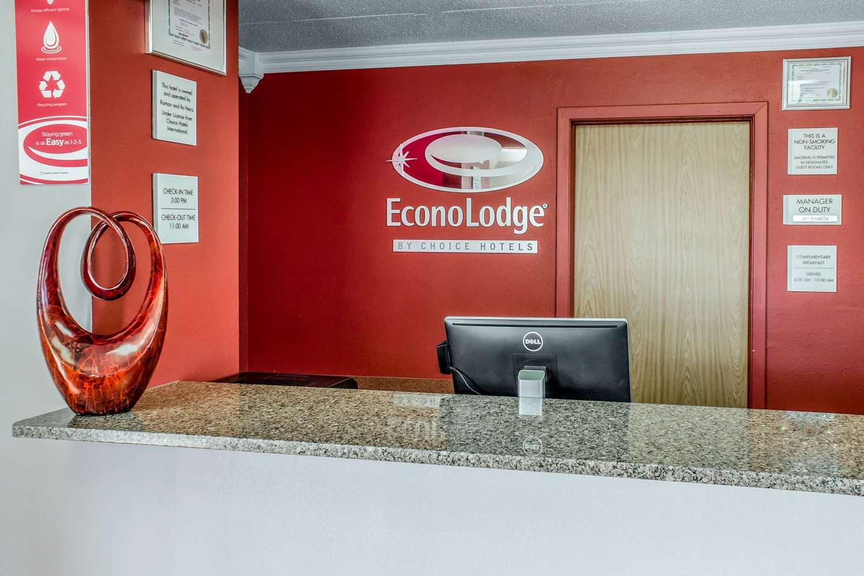 Lobby - Econo Lodge Spencer