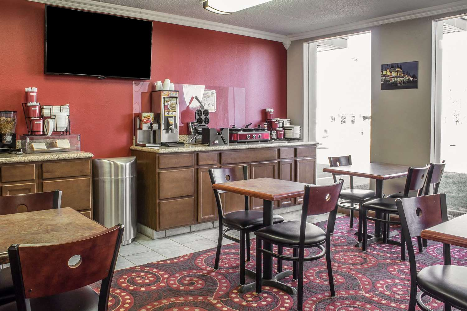 Restaurant - Econo Lodge Spencer