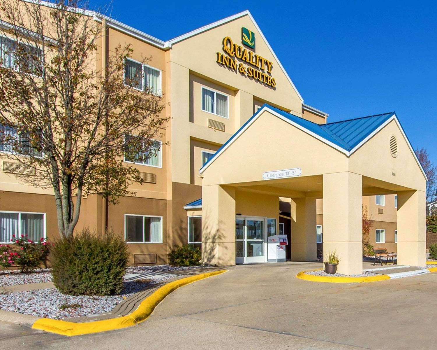 Exterior view - Quality Inn & Suites Keokuk