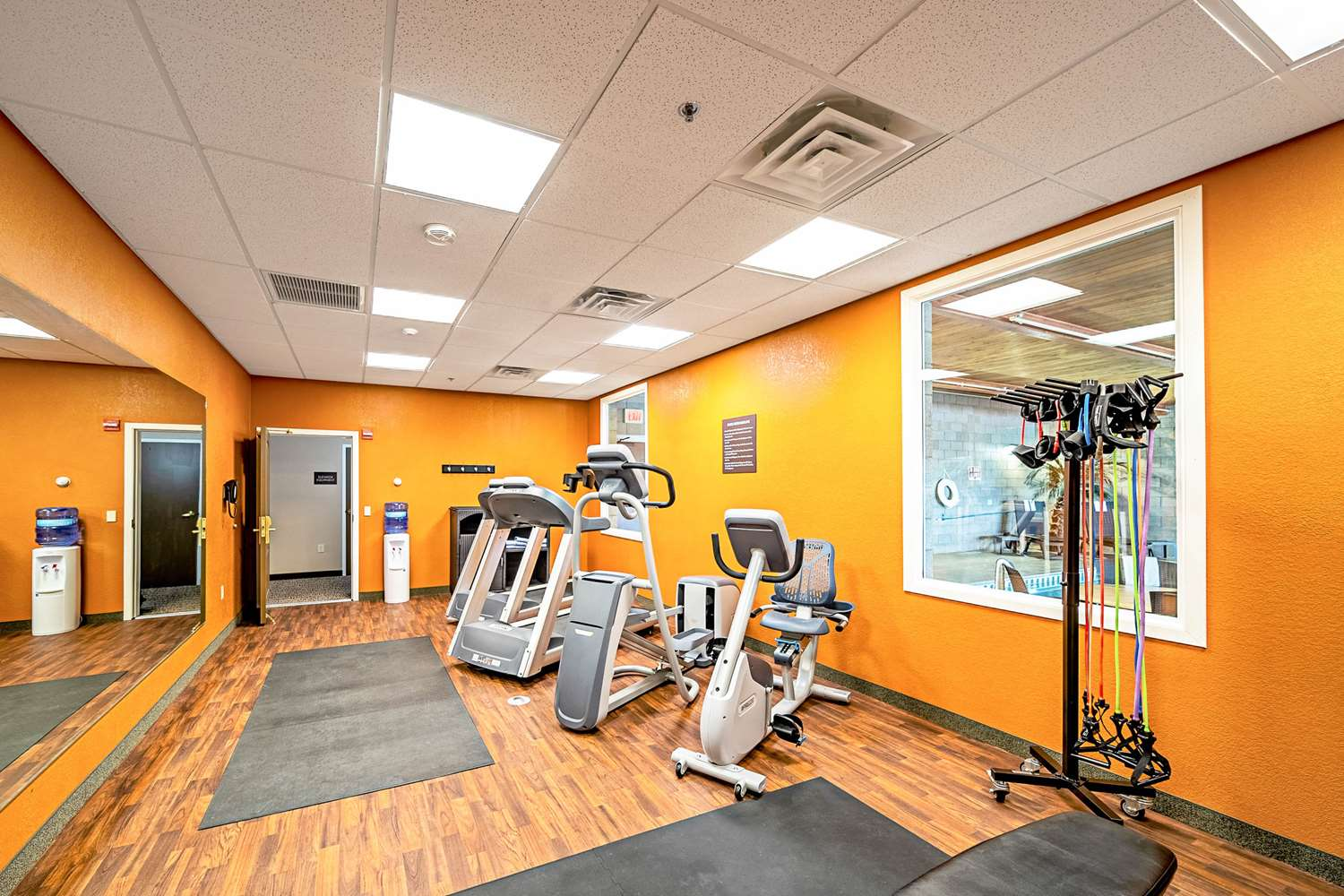 Fitness/ Exercise Room - Comfort Inn & Suites Independence