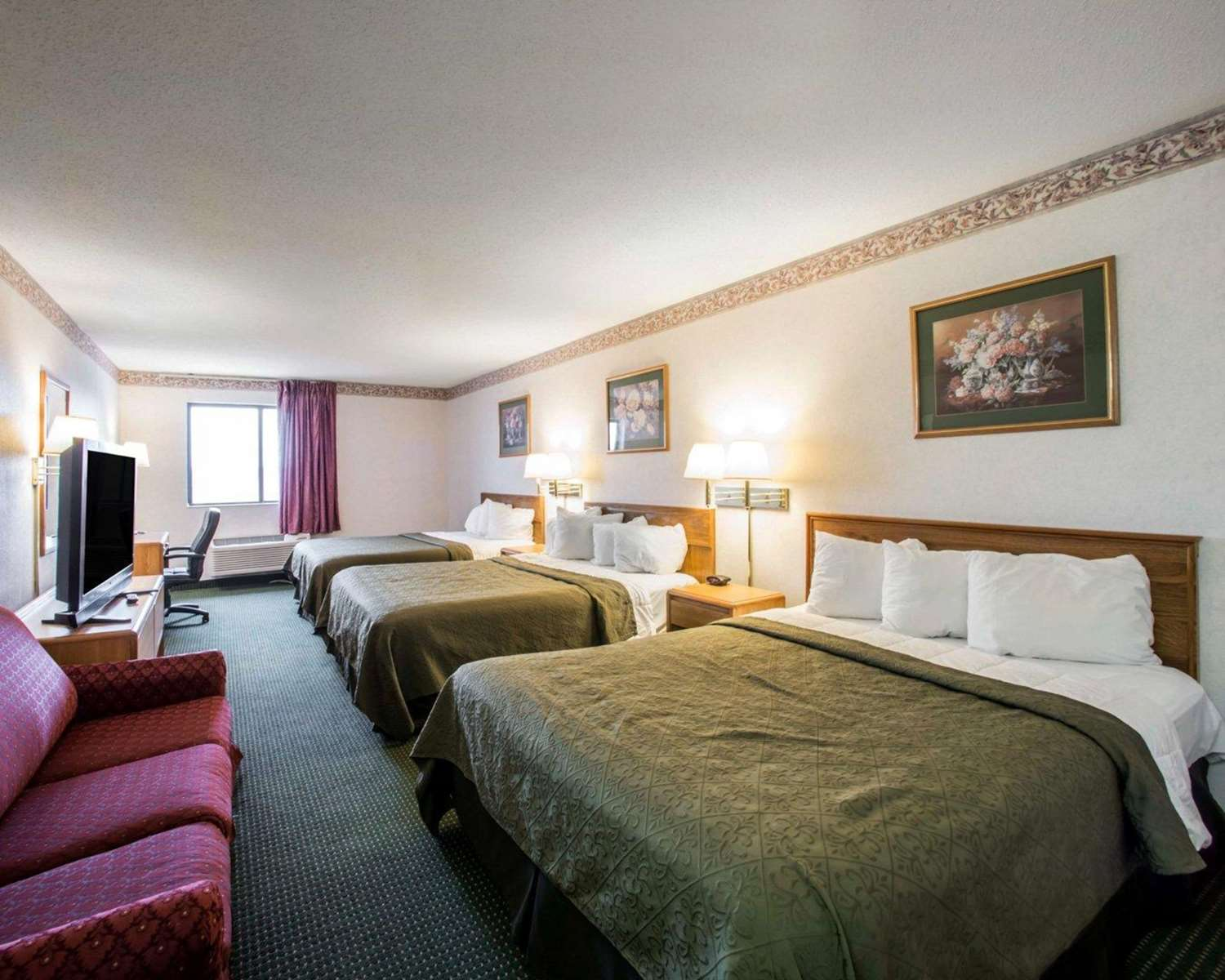 Room - Quality Inn & Suites Caseyville