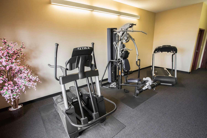 Fitness/ Exercise Room - Comfort Inn Crystal Lake