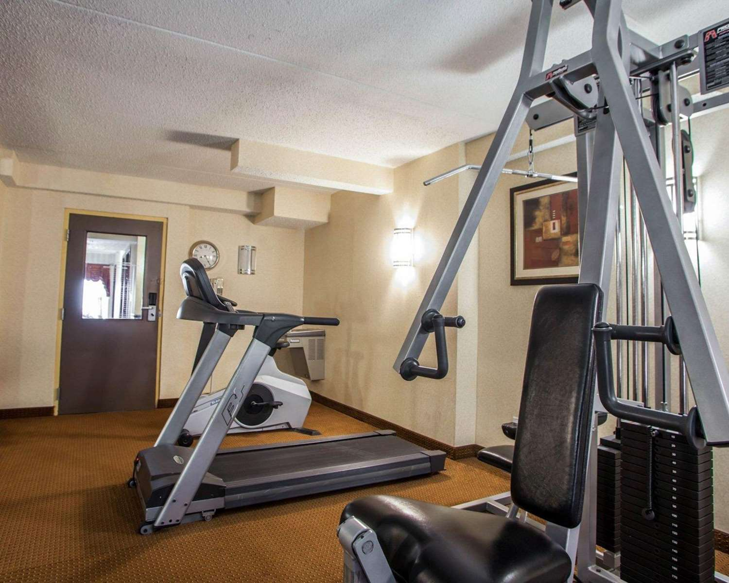 Fitness/ Exercise Room - Quality Inn Aurora