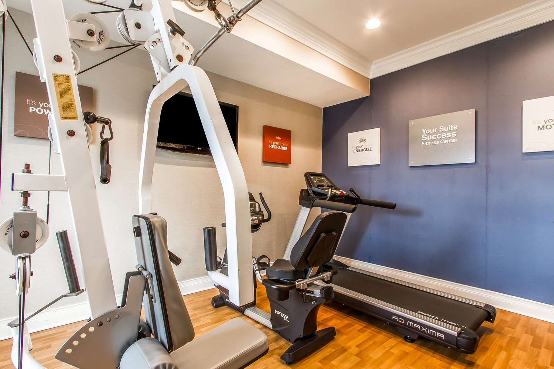 Fitness/ Exercise Room - Comfort Suites Mattoon