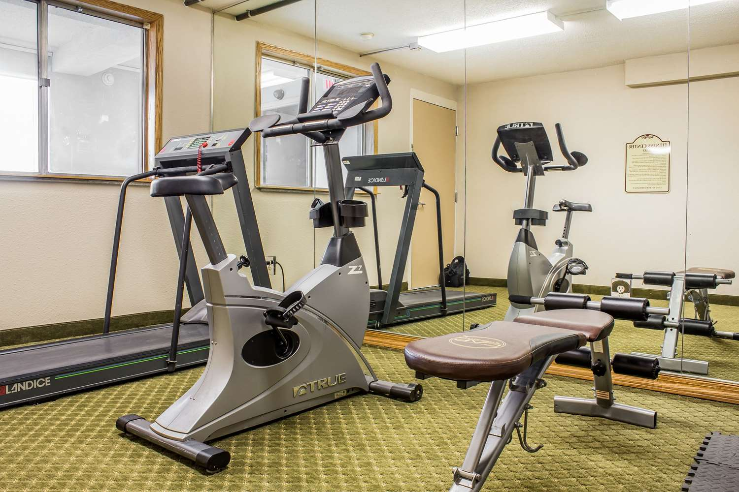 Fitness/ Exercise Room - Quality Inn & Suites Moline