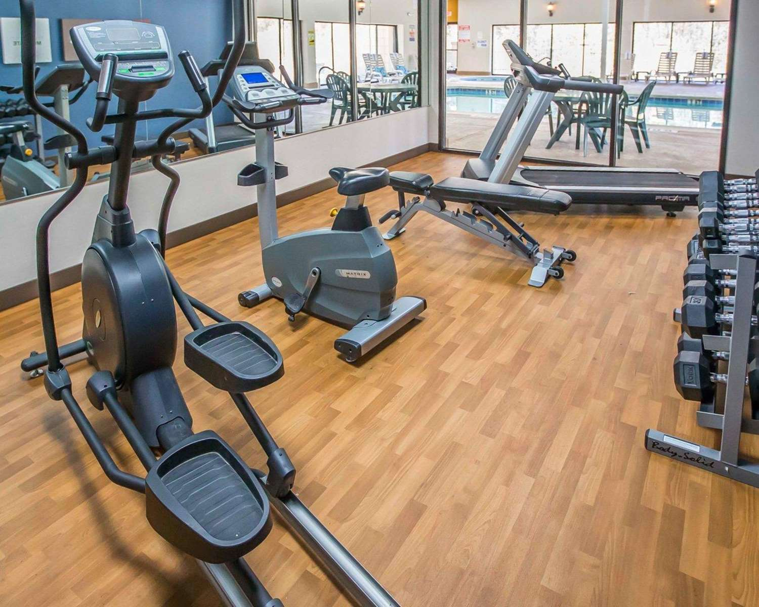 Fitness/ Exercise Room - Comfort Suites Notre Dame University South Bend