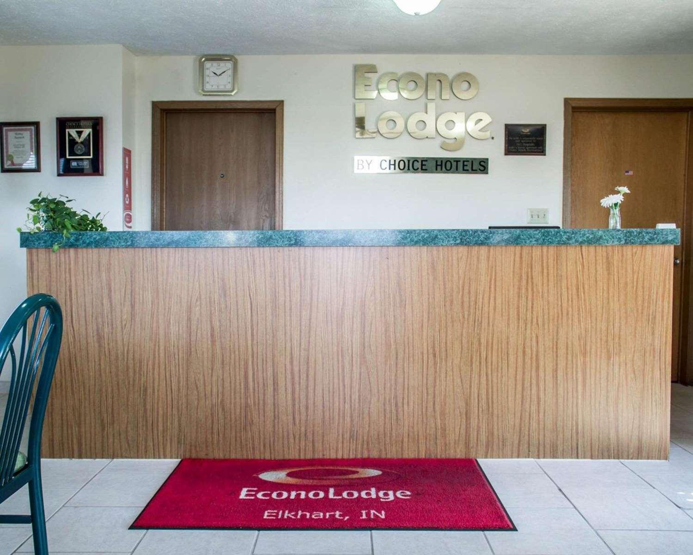 Lobby - Econo Lodge Elkhart