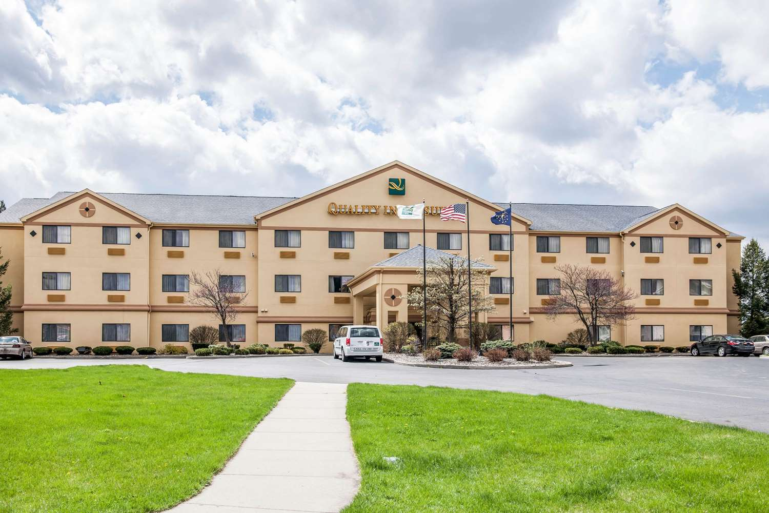 Exterior view - Quality Inn & Suites South Bend