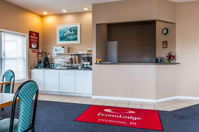 Lobby - Econo Lodge Vincennes
