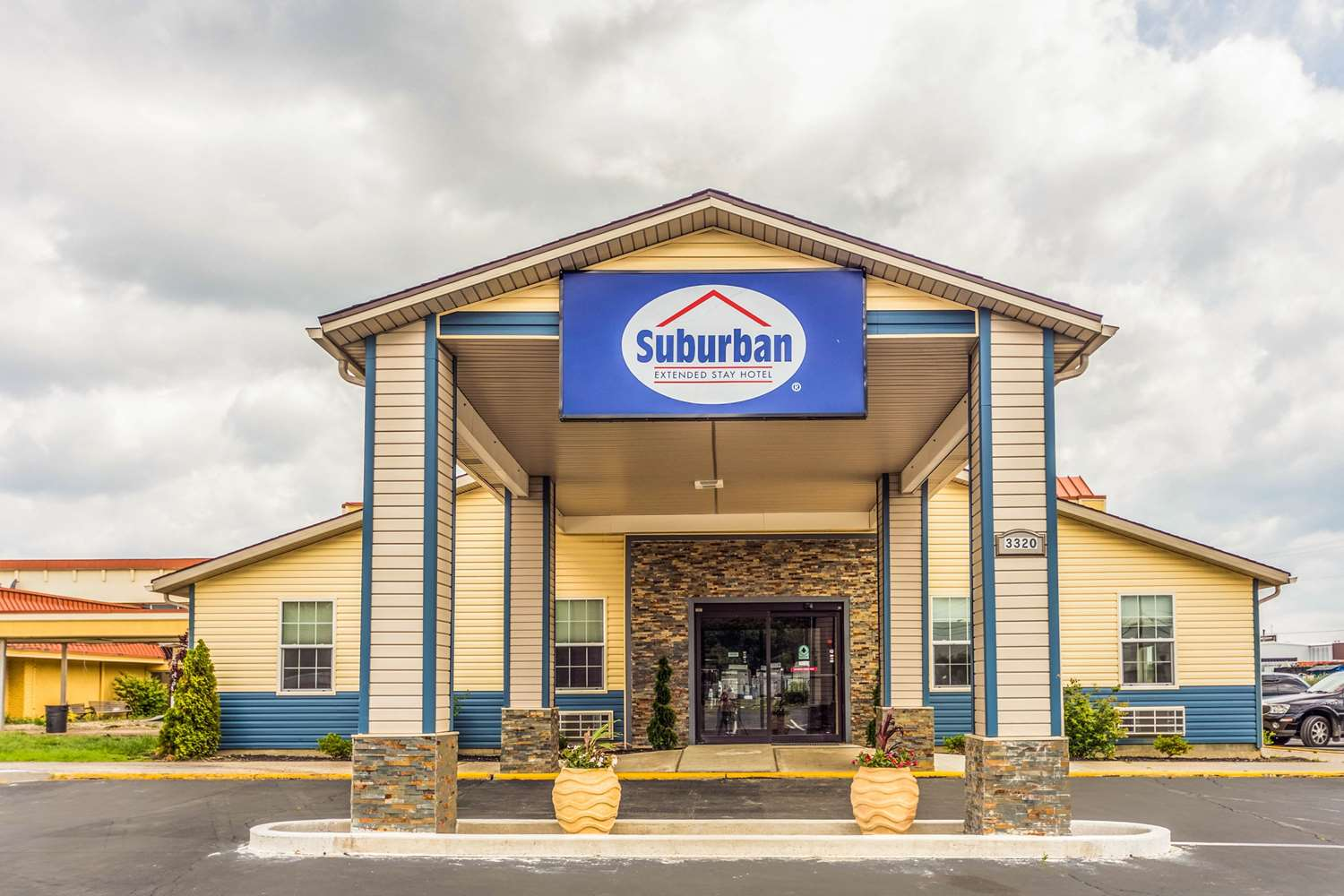 Exterior view - Suburban Extended Stay Hotel Fort Wayne