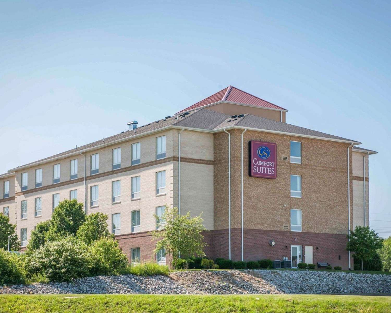 Exterior view - Comfort Suites Indianapolis South