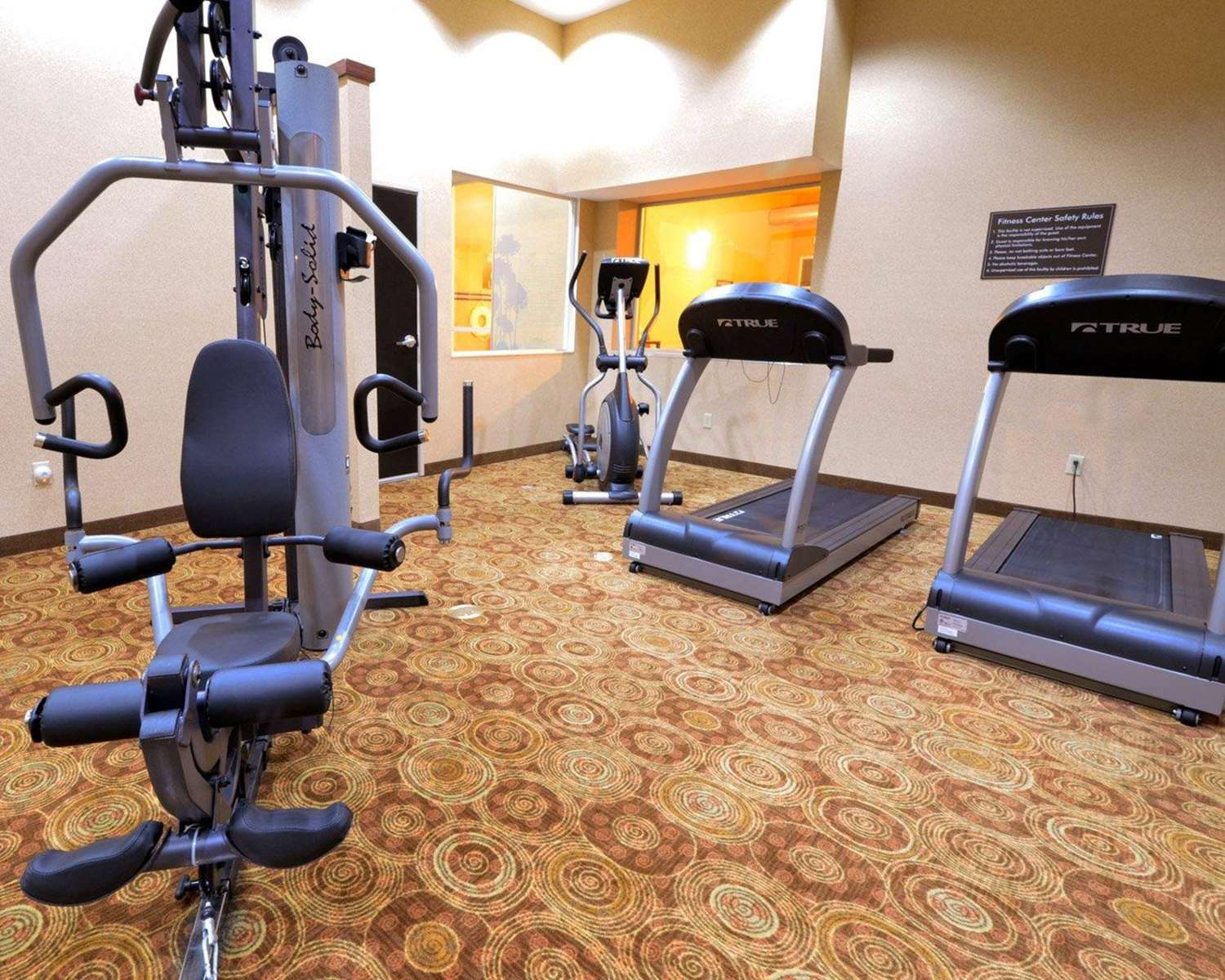Fitness/ Exercise Room - Sleep Inn & Suites & Conference Center Indianapolis