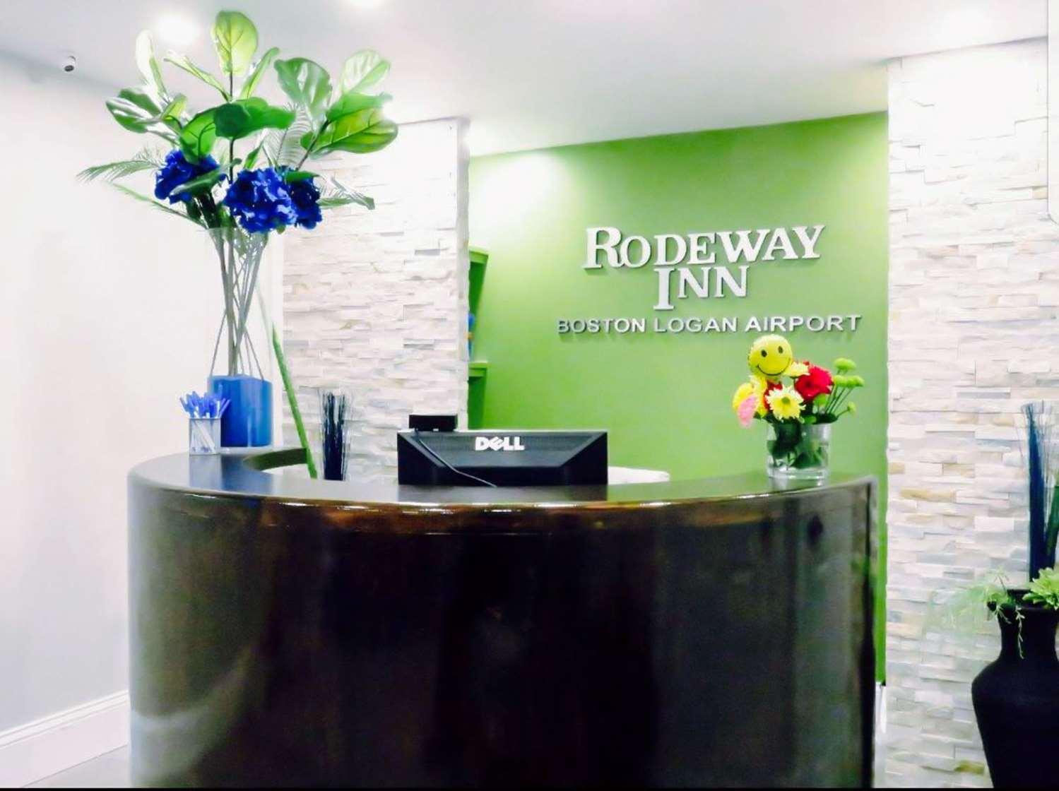 Lobby - Rodeway Inn Revere