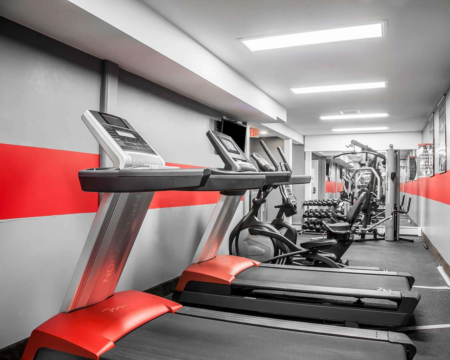 Fitness/ Exercise Room - enVision Hotel Boston