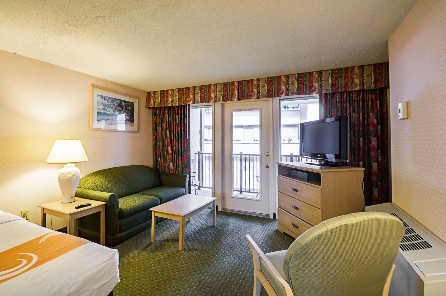 Room - Quality Inn Oceanfront Ocean City