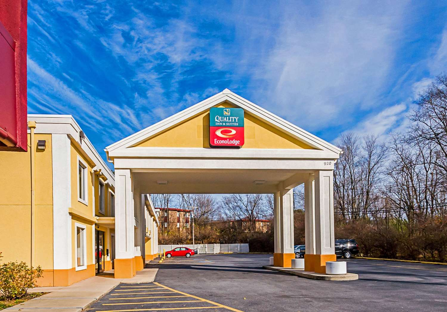 Exterior view - Quality Inn & Suites Hagerstown