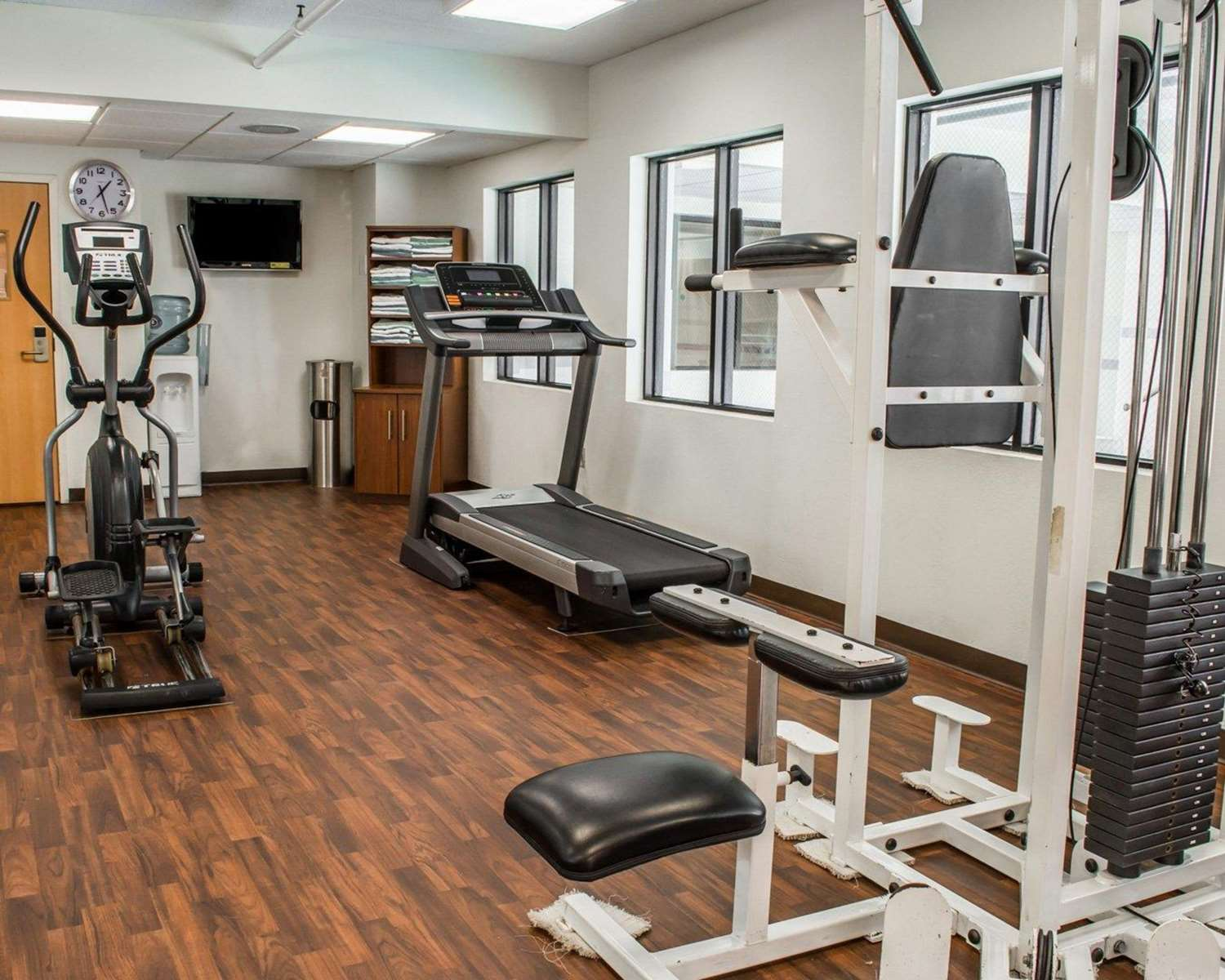 Fitness/ Exercise Room - Comfort Suites Hagerstown