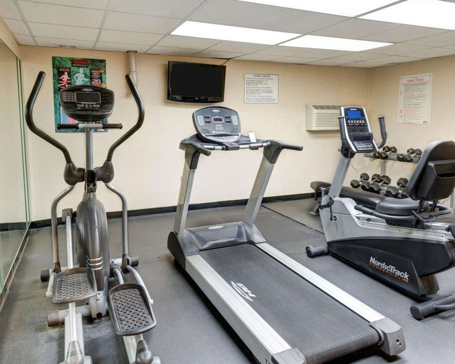 Fitness/ Exercise Room - Quality Inn Fort Meade-Savage Mill Jessup
