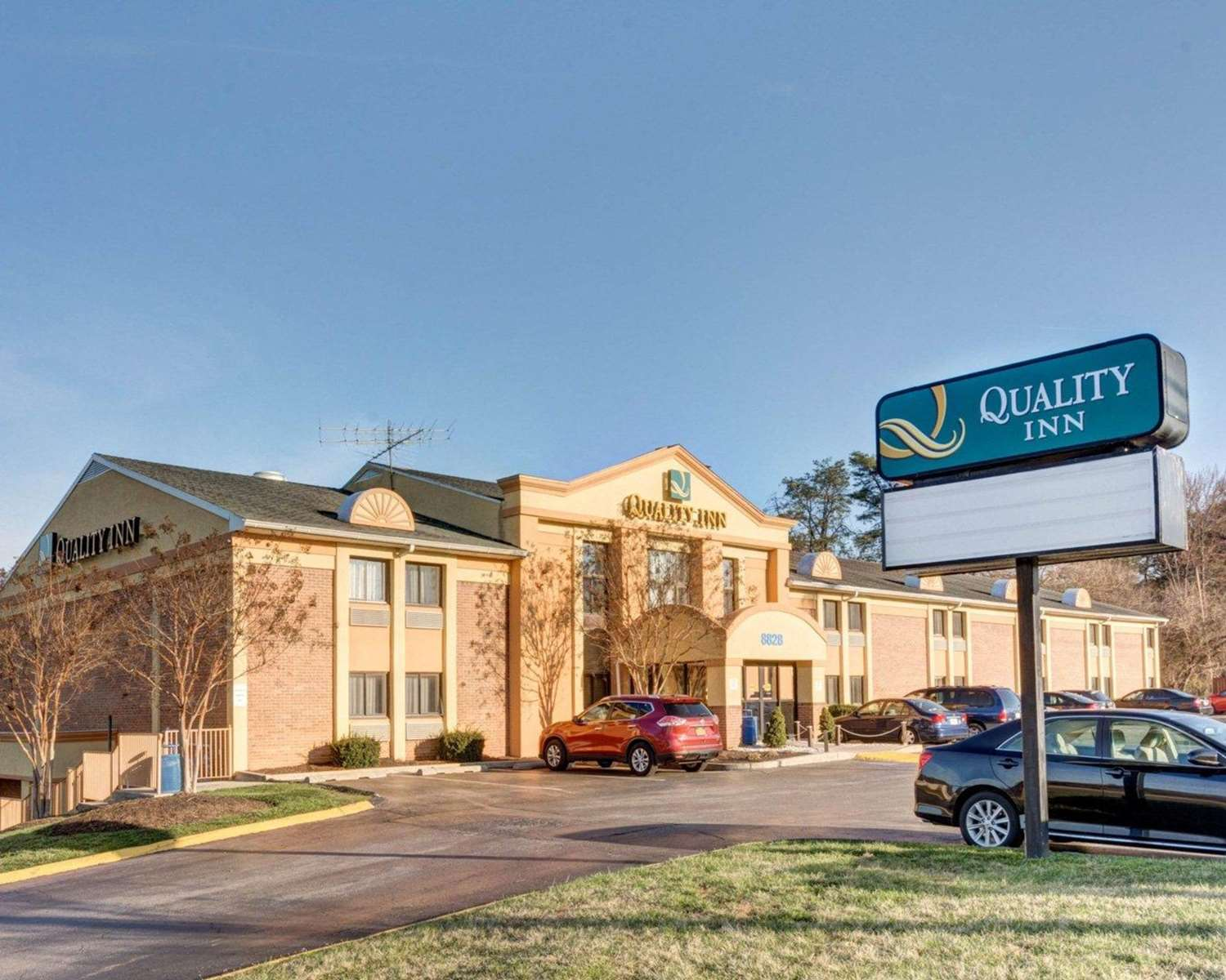 Exterior view - Quality Inn Fort Meade-Savage Mill Jessup