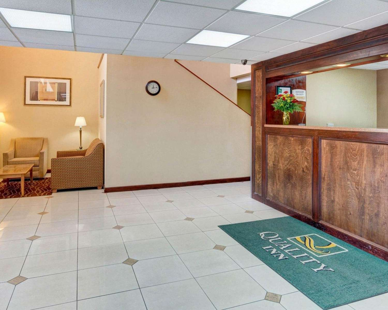 Lobby - Quality Inn Fort Meade-Savage Mill Jessup