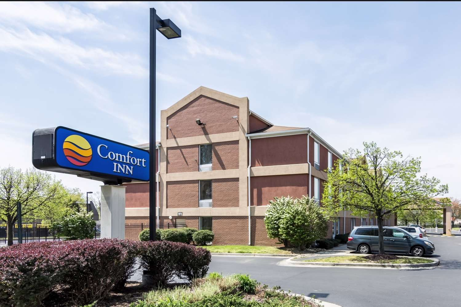 Exterior view - Comfort Inn at Andrews AFB Clinton