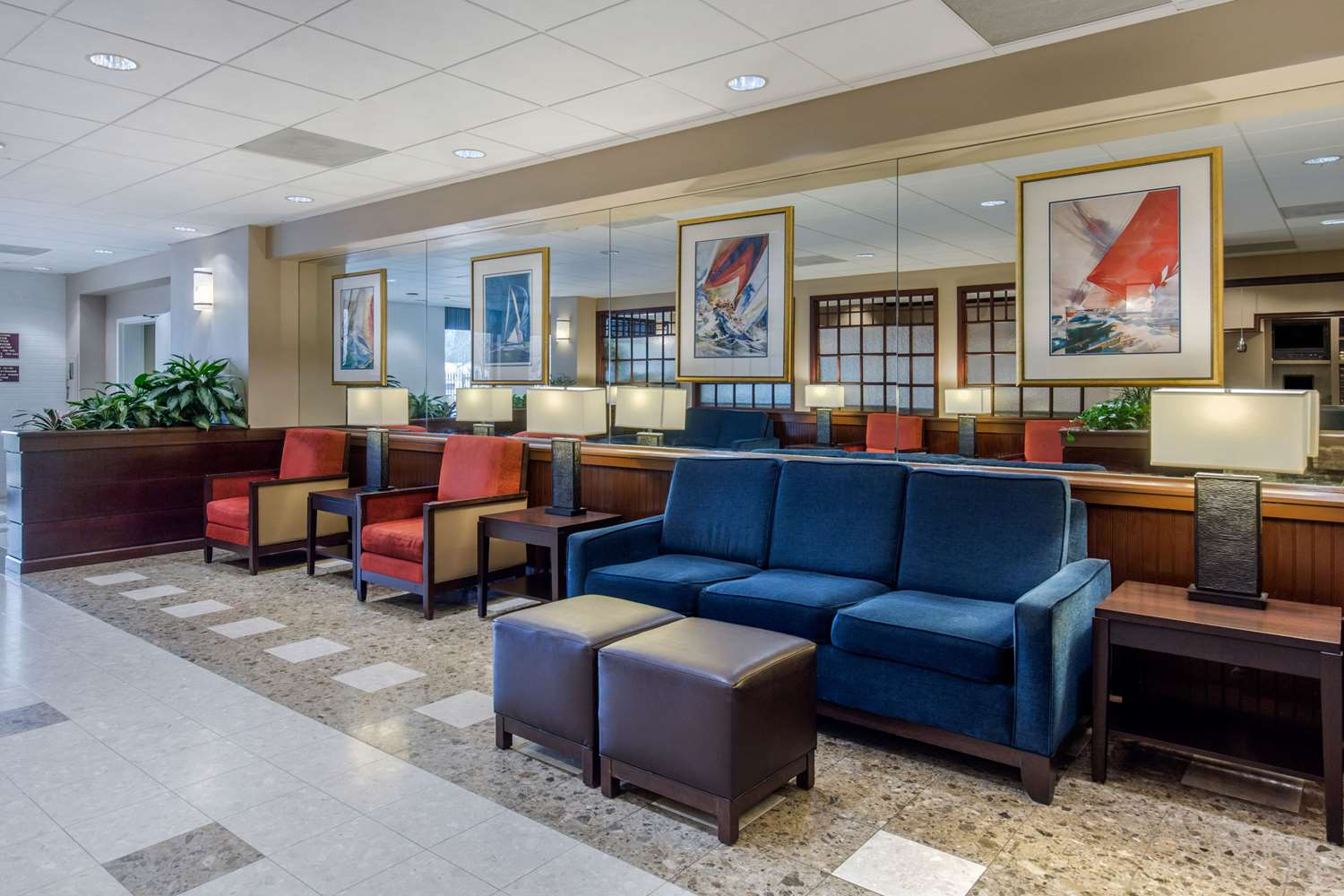 Lobby - Comfort Inn Conference Center Hotel Bowie