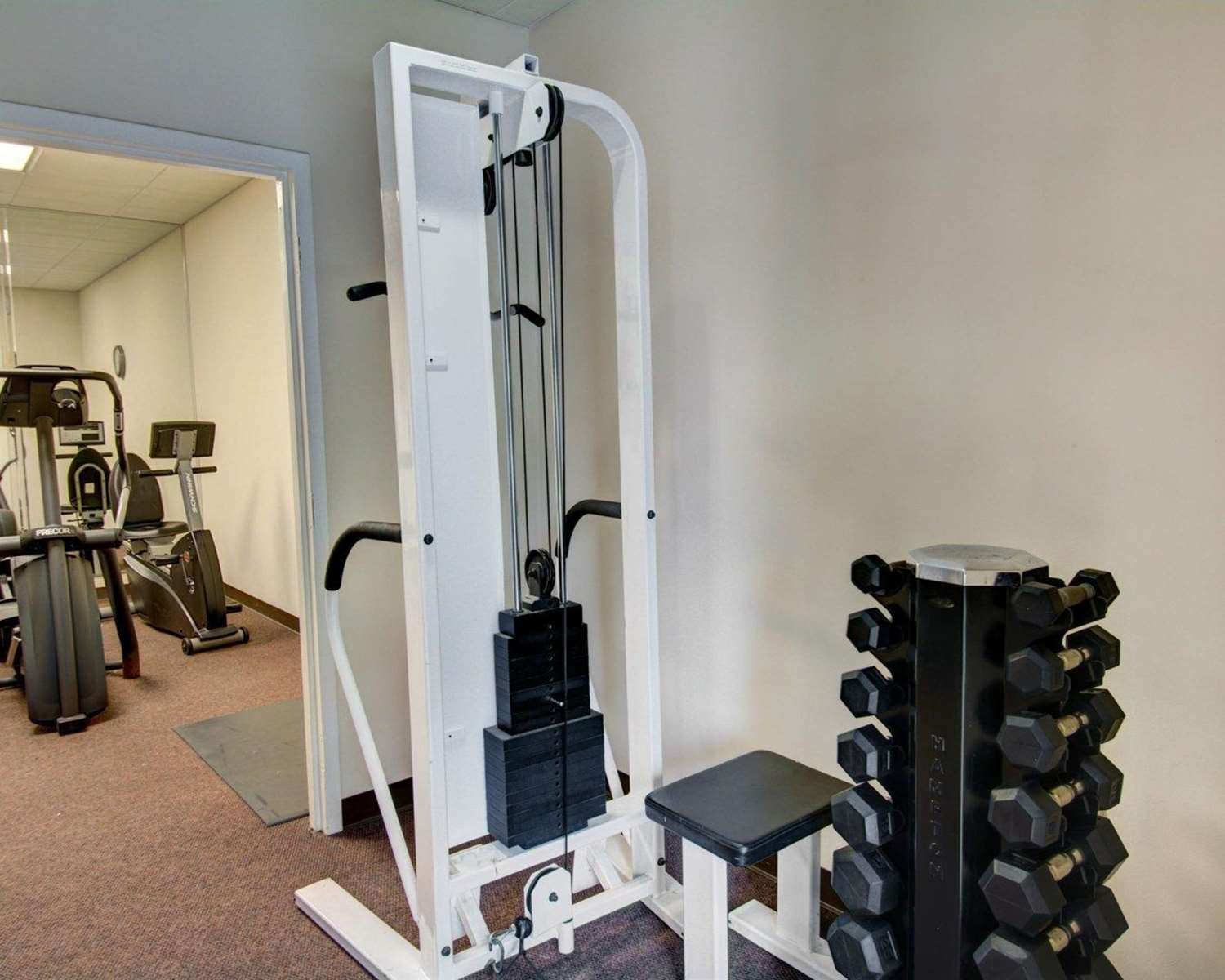 Fitness/ Exercise Room - Comfort Inn Conference Center Hotel Bowie