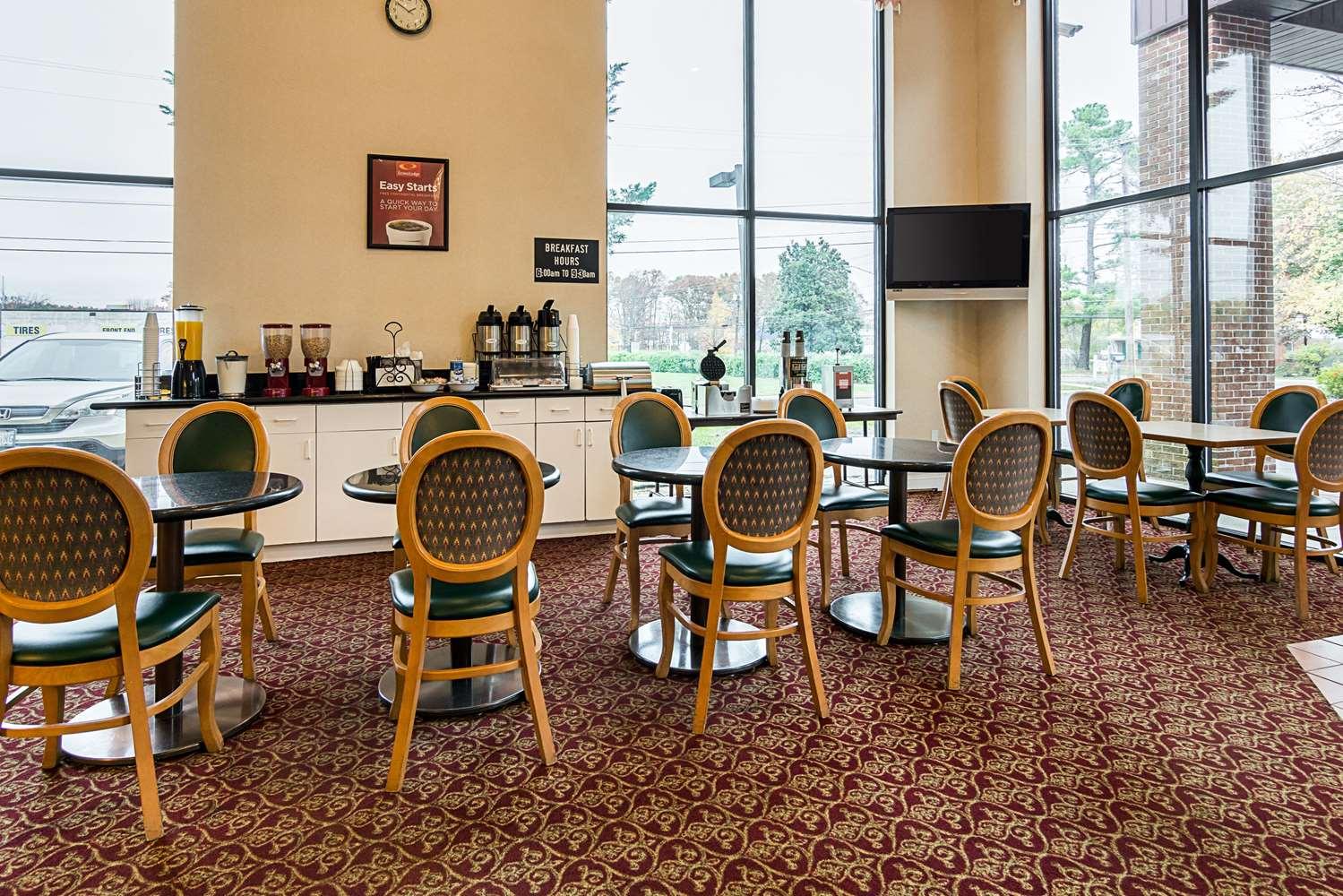 Restaurant - Econo Lodge Clinton