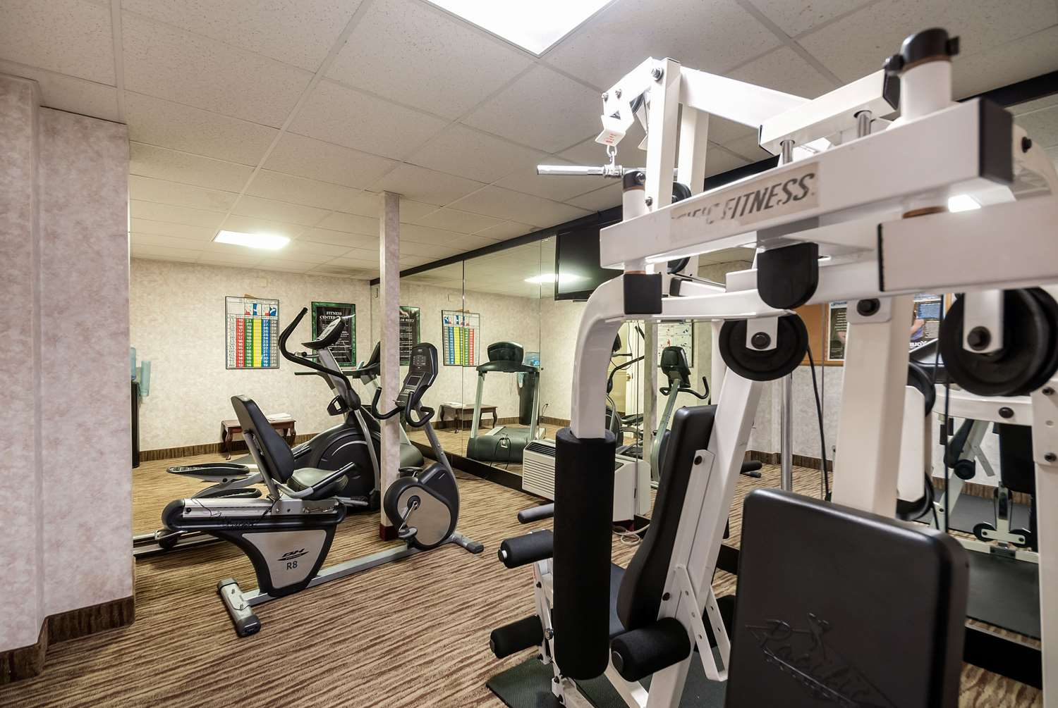 Fitness/ Exercise Room - Quality Inn & Suites Laurel